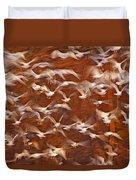 Great Black-backed Gulls Duvet Cover