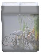 Great Blue Heron 4 Duvet Cover