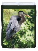 Great Blue Heron IIi Duvet Cover