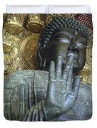 Great Buddha Of Nara Japan Duvet Cover
