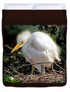 Great Egret Duvet Cover