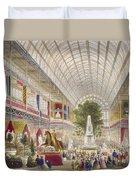 Great Exhibition, 1851 South Transept Duvet Cover