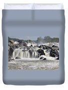 Great Falls Of The Potomac River Duvet Cover
