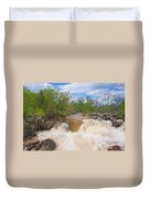 Great Falls White Water #5 Duvet Cover
