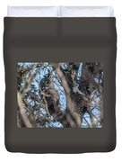 Great Grey In The Woods Duvet Cover