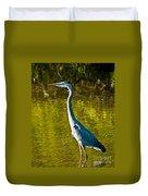 Great Heron Duvet Cover