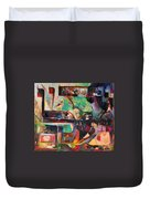 Great Is Peace Duvet Cover