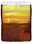 Great Lake Great Sunset 2 Duvet Cover