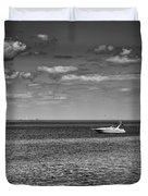 Great Lakes Boating Duvet Cover
