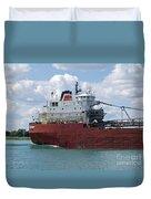 Great Lakes Transport Duvet Cover
