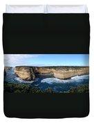 Great Ocean Road, Australia - Panoramic Duvet Cover