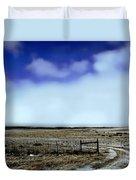 Great Plains Winter Duvet Cover