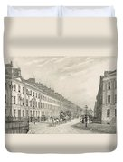 Great Pultney Street, Bath, C.1883 Duvet Cover