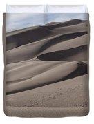 Great Sands Shapes Duvet Cover
