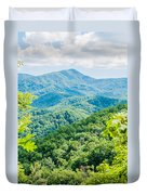 Great Smoky Mountains National Park Near Gatlinburg Tennessee. Duvet Cover