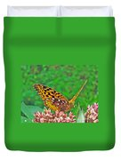 Great Spangled Fritillary Butterfly - Speyeria Cybele Duvet Cover