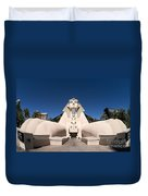 Great Sphinx Of Giza Luxor Resort Las Vegas Duvet Cover