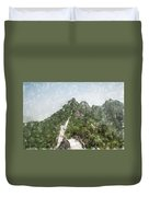 Great Wall 0033 - Light Colored Pencils Sl Duvet Cover