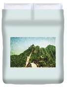 Great Wall 0033 - Pastel Pencil 1 Sl Duvet Cover