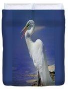 Great White Egret 2 Duvet Cover