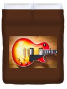 Greco Guitar Body Duvet Cover
