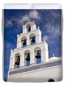 Greek Church Bells Duvet Cover