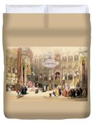 Greek Church Of The Holy Sepulchre Duvet Cover