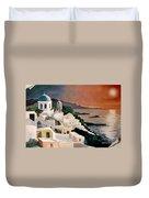 Greek Isles Duvet Cover