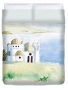 Greek Orthodox Church 2 Duvet Cover