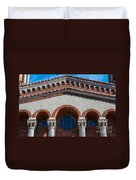 Greek Orthodox Church Arches Duvet Cover
