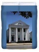 Greek Revival House - New London Ct Duvet Cover