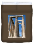 Greek Ruins Duvet Cover