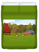 Green Acres Duvet Cover