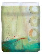 Green And Red 2 Duvet Cover