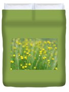 Green And Yellow Vintage Duvet Cover