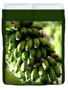 Green Bananas Duvet Cover