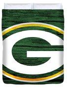 Green Bay Packers Barn Door Duvet Cover