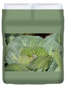 Green Cabbage Duvet Cover