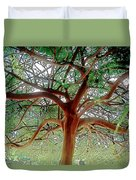 Green Canopy Duvet Cover by Terry Reynoldson