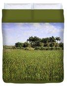 Green Cay Wetlands Duvet Cover