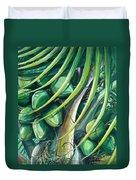 Green Coconuts  2  Duvet Cover