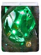 Green Eye Duvet Cover