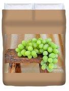 Green Grapes Duvet Cover