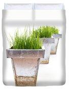 Green Grass Duvet Cover