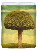 Green Growing Lullaby Duvet Cover
