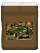 Green Hornet Duvet Cover
