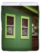 Green House Duvet Cover