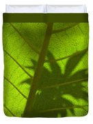 Green Leaves Series 3 Duvet Cover
