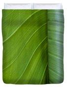 Green Leaves Series  6 Duvet Cover