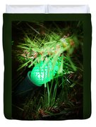 Green Light Duvet Cover